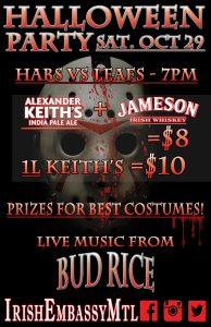 Halloween Party @ Irish Embassy